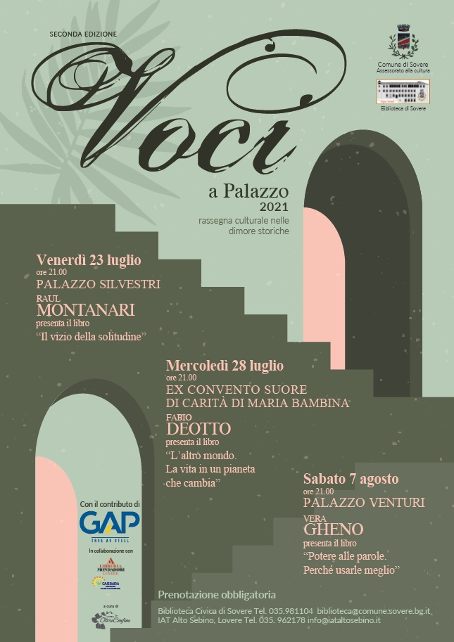 Voci a Palazzo - II edizione