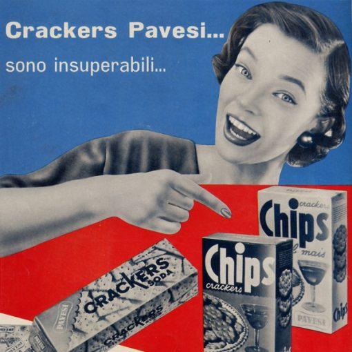 """Pausa Pubblicità: """"Crackers Pavesi... sono insuperabili"""""""