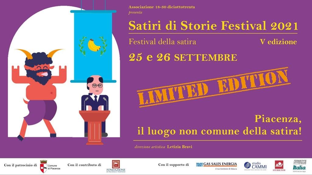 Satiri di Storie Festival 2021