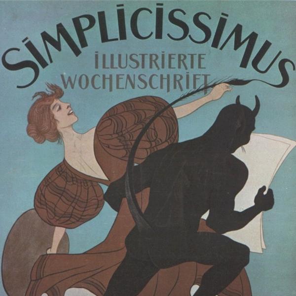 """Manifesti d'epoca: """"Simplicissimus"""""""