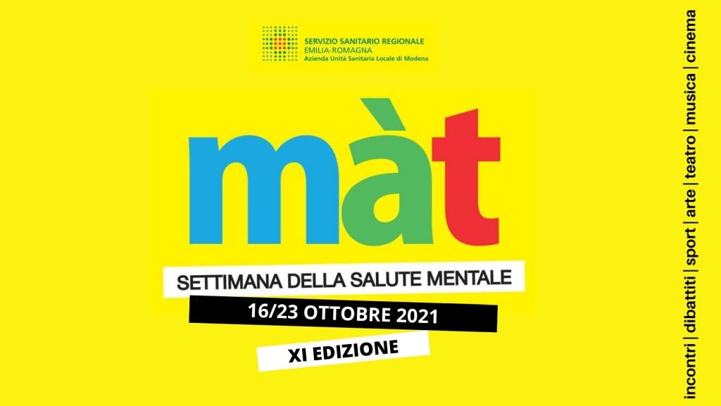 Màt - La Settimana della salute mentale. 100 eventi in sette giorni a cavallo tra cultura e salute