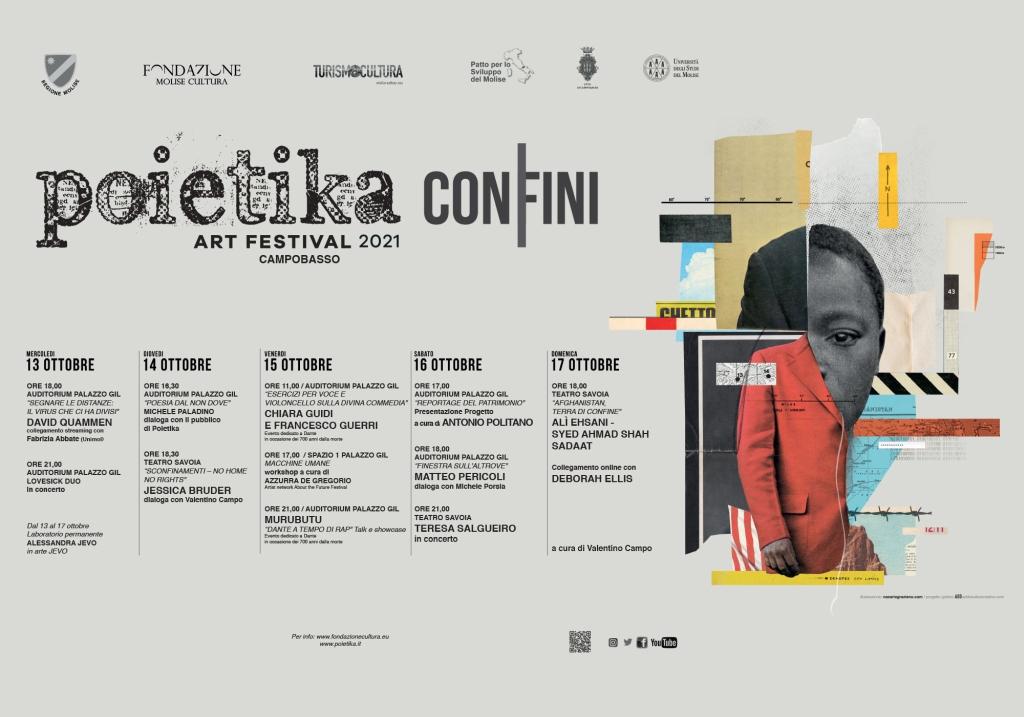 """Poietika Art Festival 2021 - VI edizione: """"Confini"""""""
