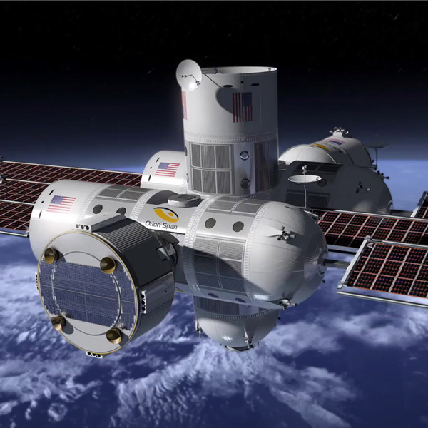 Aurora Station, il primo hotel nello spazio