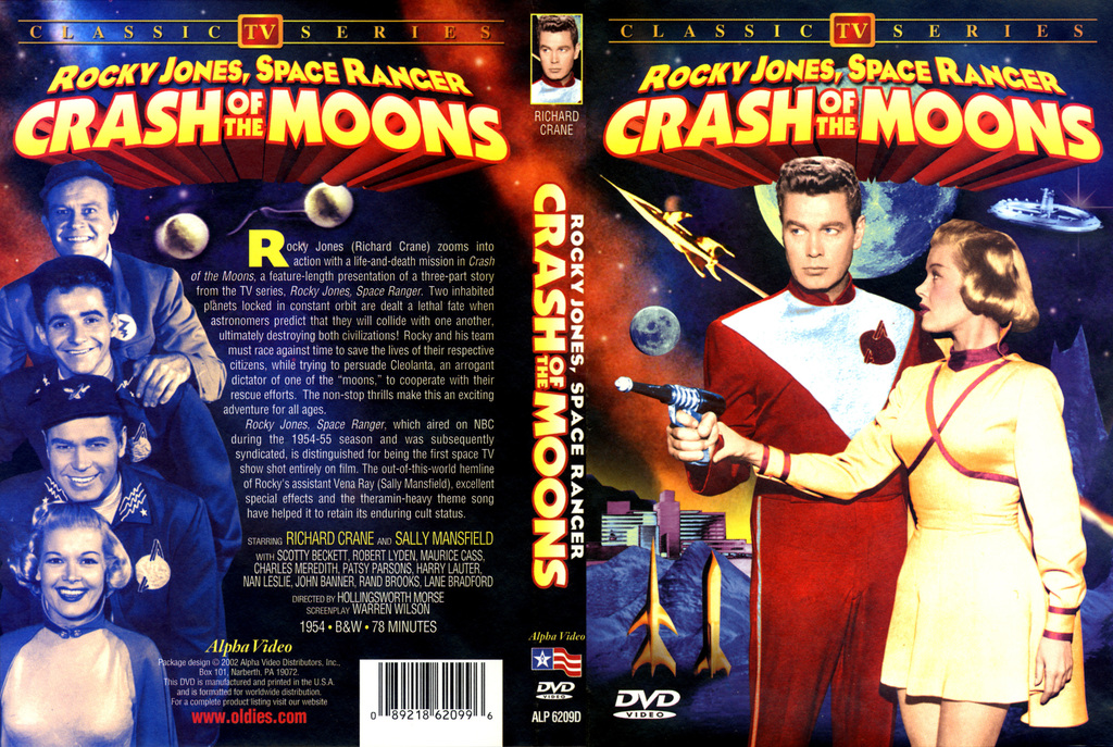 FuturVintageFilm: Rocky Jones, Space Ranger - Crash of the Moons