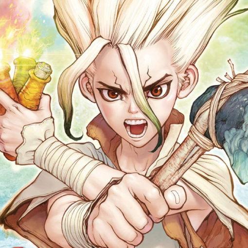 FuturManga: Dr. Stone. Il mondo pietrificato di Riichirō Inagaki nei disegni di Boichi
