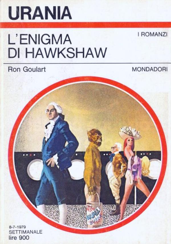 """Urania: """"L'Enigma di Hawkshaw"""" di Ron Goulart"""