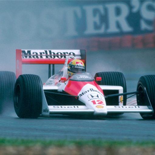 Ayrton Senna. Immagini di una vita