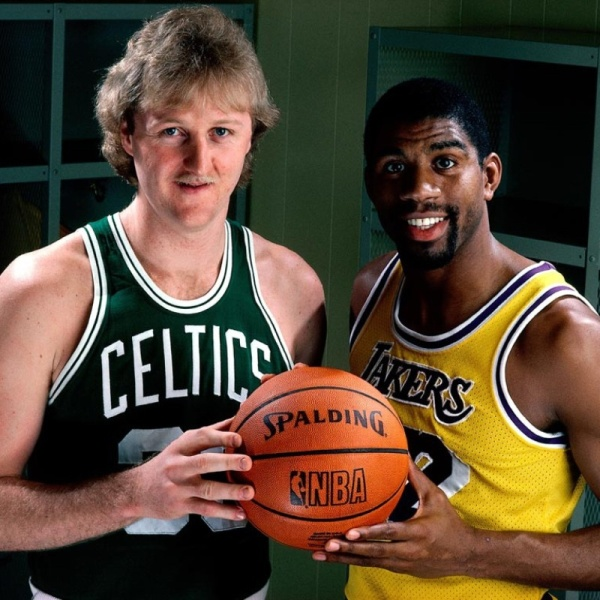 Larry Bird, Magic Johnson. Il basket eravamo noi