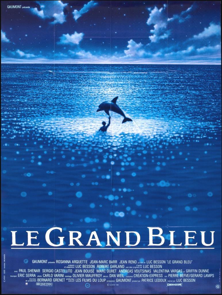 """Film: """"Le Grand Bleu"""" di Luc Besson"""