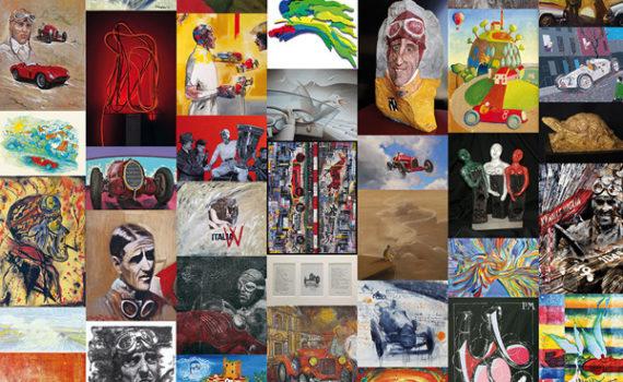 """Artisti per Nuvolari. La mostra dedicata al """"Nivola"""" - settima edizione"""