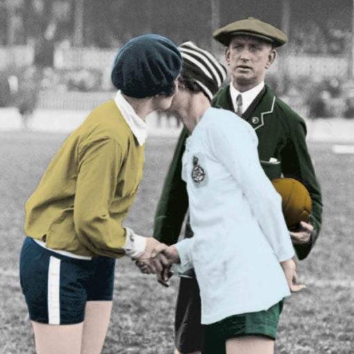 Ladies Football Club - La prima squadra di calcio femminile della storia