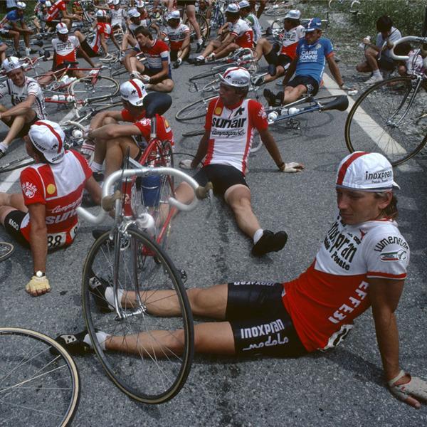 La bicicletta e i fotografi di Magnum in mostra al Castello di Caldes